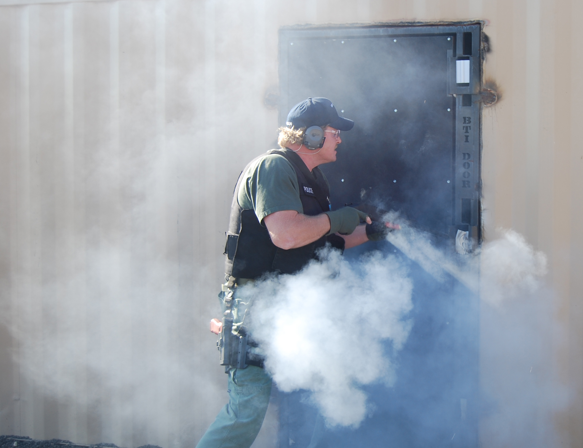 Less Lethal training