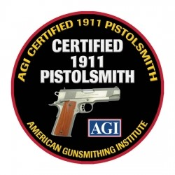 American Gunsmithing Institute (AGI) Announces NEW Certified 1911