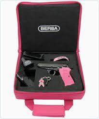 Bersa Breast Cancer Awareness Pink Gun