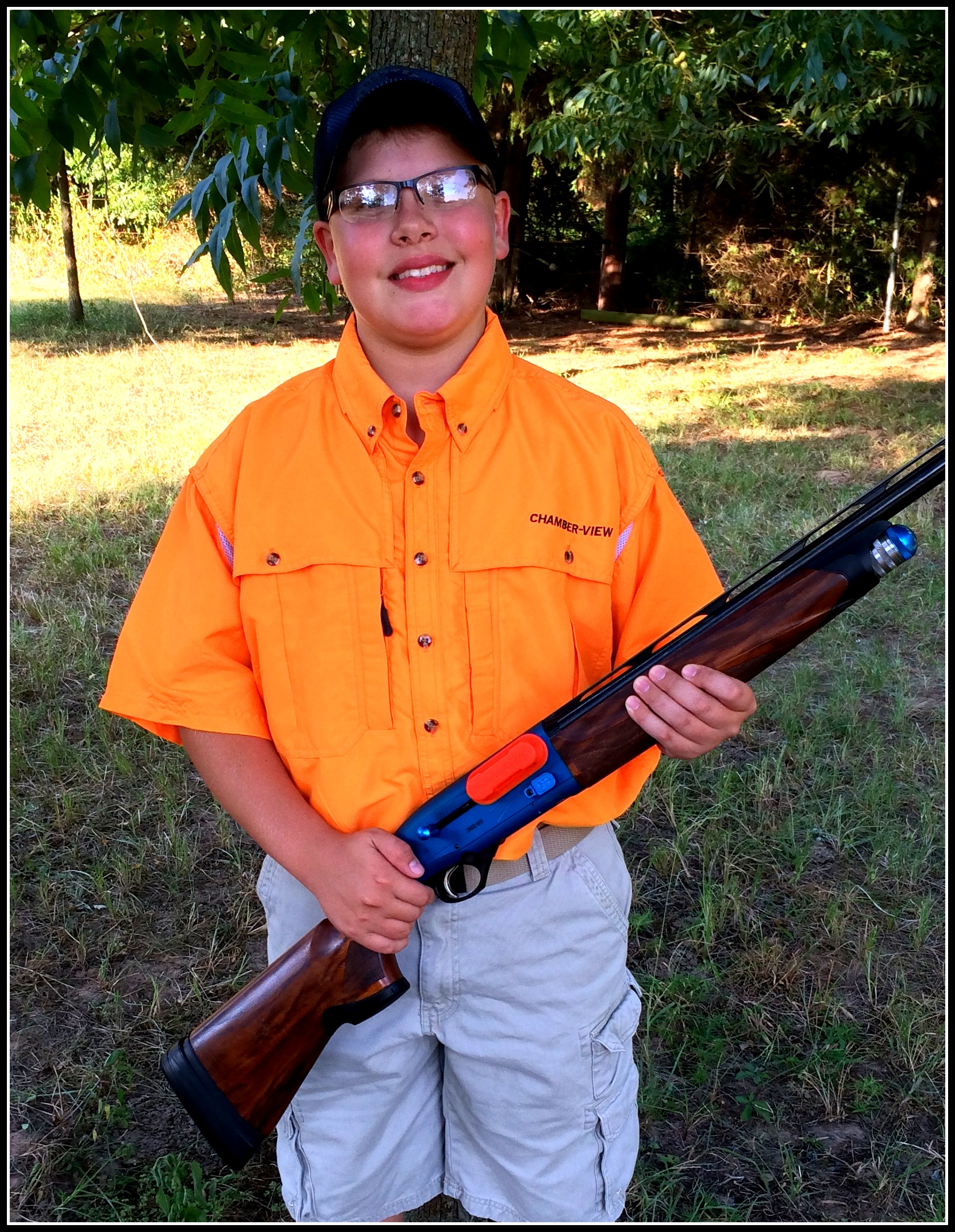 Chamber-View® Sponsors Youth Target Shooter Ryan Fitch for 2014 Season