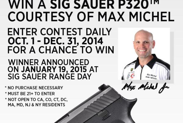 Max Michel Gun Giveaway