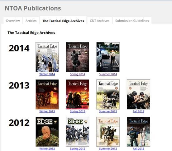 NTOA Archives