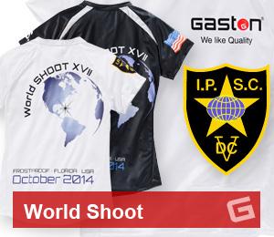 GASTON GLOCK style LP World Shoot Performance Shirts