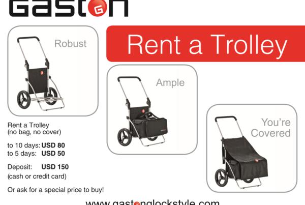 GASTON J. GLOCK style LP Trolley Rental for ISPSA World Shoot