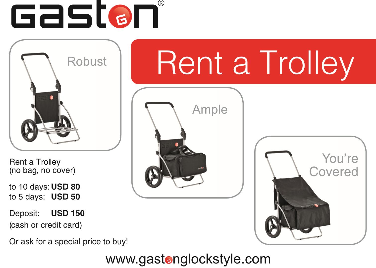 GASTON J. GLOCK style LP Trolley Rental for ISPC World Shoot