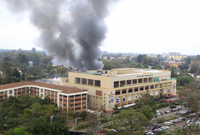 NTOA Nairobi Mall Attack, Sept. 2013