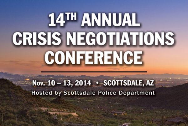 NTOA Crisis Negotiations Conference Banner