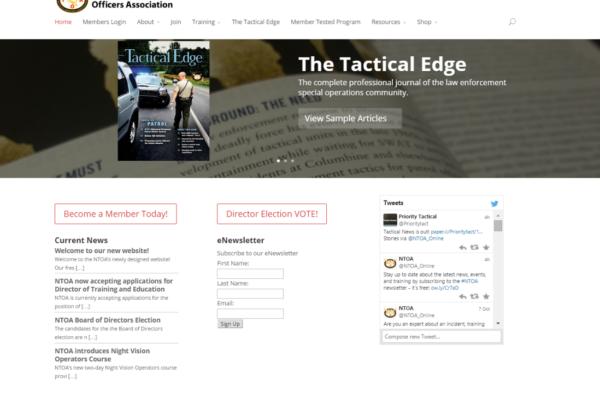 NTOA New Website Screen Shot
