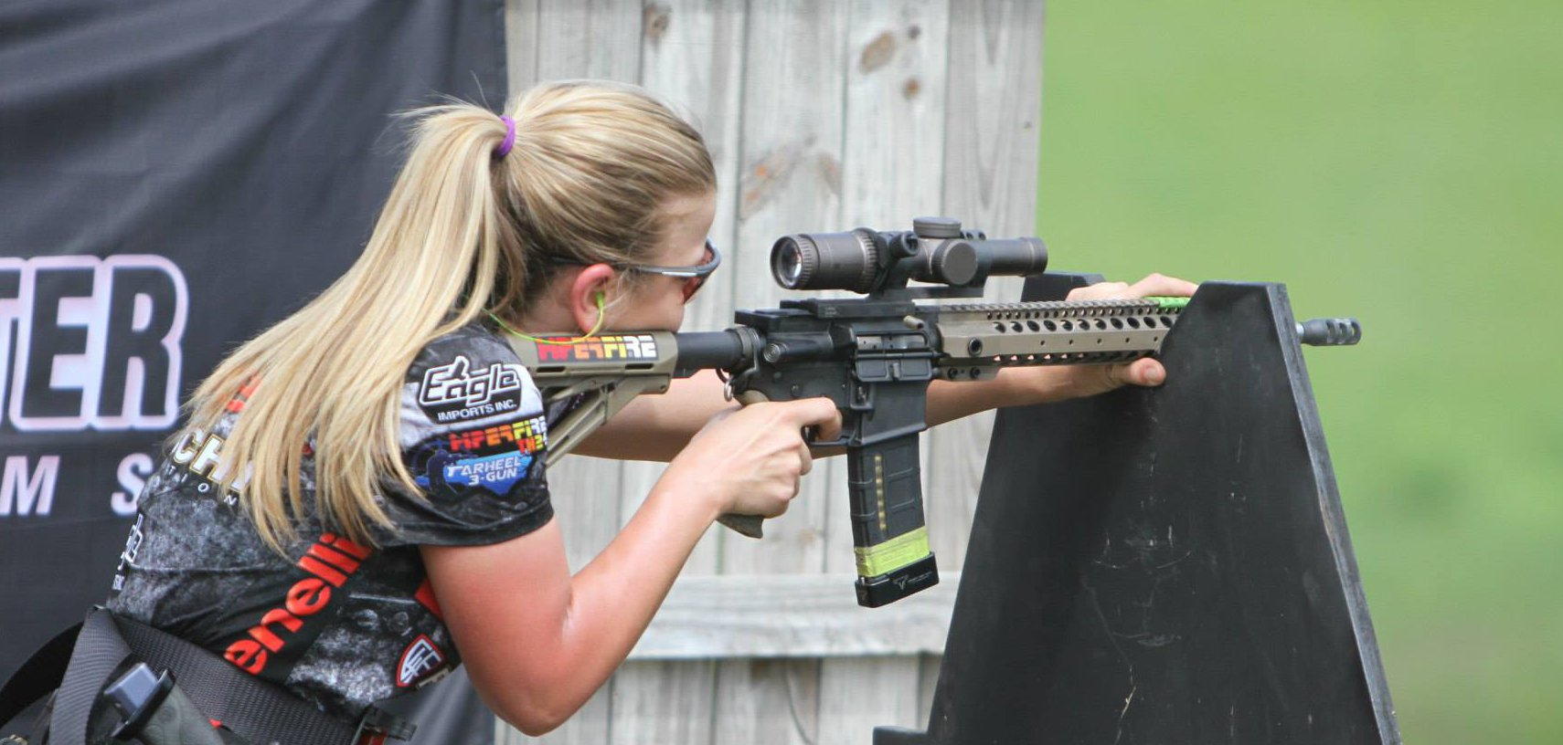 Eagle Imports Inc. Shooter, Heather Fitzhugh, Crowned 3rd High Lady at the Bushmaster Tarheel 3-Gun Challenge