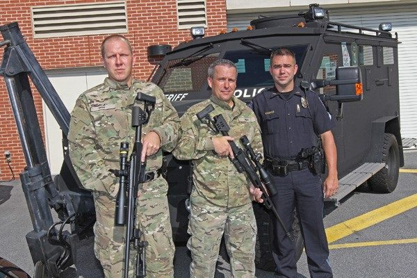 Douglasville PD SWAT recieves Bergara Rifles