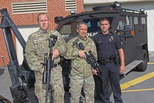Douglasville PD SWAT recieves Bergara Rifles