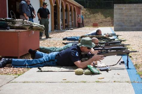 Testing the Bergara Custom Rifles at the range
