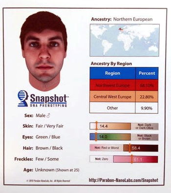 Composite Sketch of Suspect Created From DNA