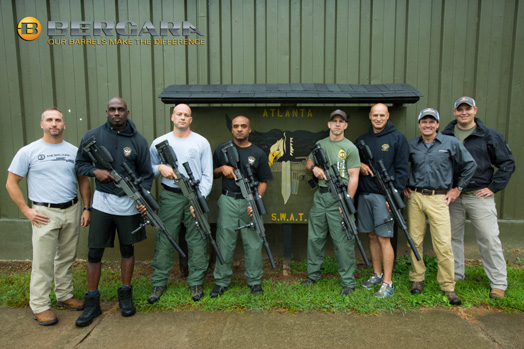 Atlanta PD SWAT Team and Bergara USA Team