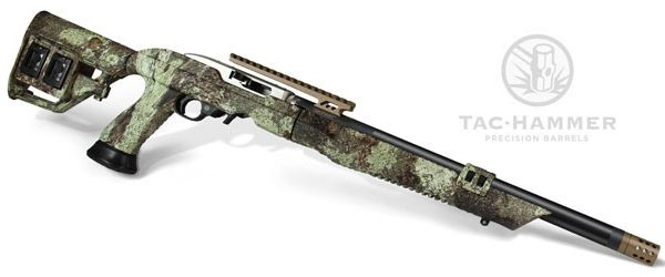 Adaptive Tactical Tac-Hammer Barrel on Ruger 10/22