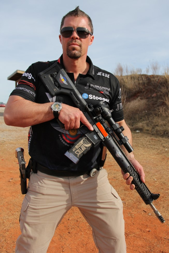 Chamber-View Sponsored Shooter Jesse Tischauser to Make Booth Appearance at 2016 SHOT Show