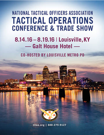 NTOA Annual Tactical Operations Conference & Trade Show Kicks Off in Two Weeks