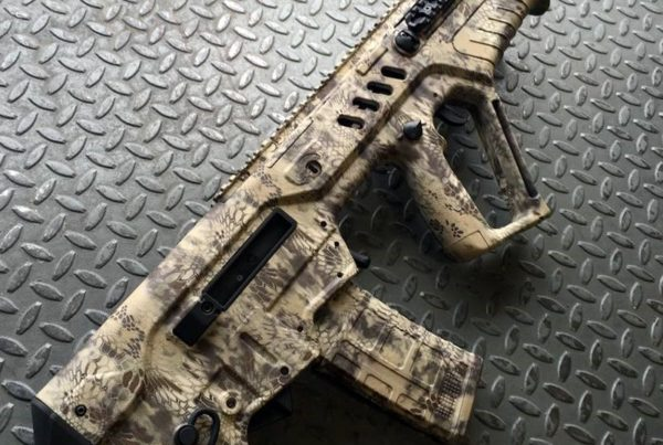 Robert Wagner, Winner of the LBM $6,000 Gun & Gearaway's, Kryptek™ Camo dipped TAVOR®.