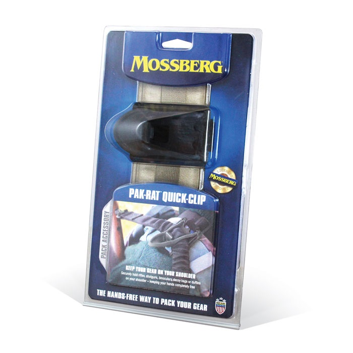 Mossberg® Gear Announces the Release of the Pak-Rat™ Quick-Clip Pack Accessory