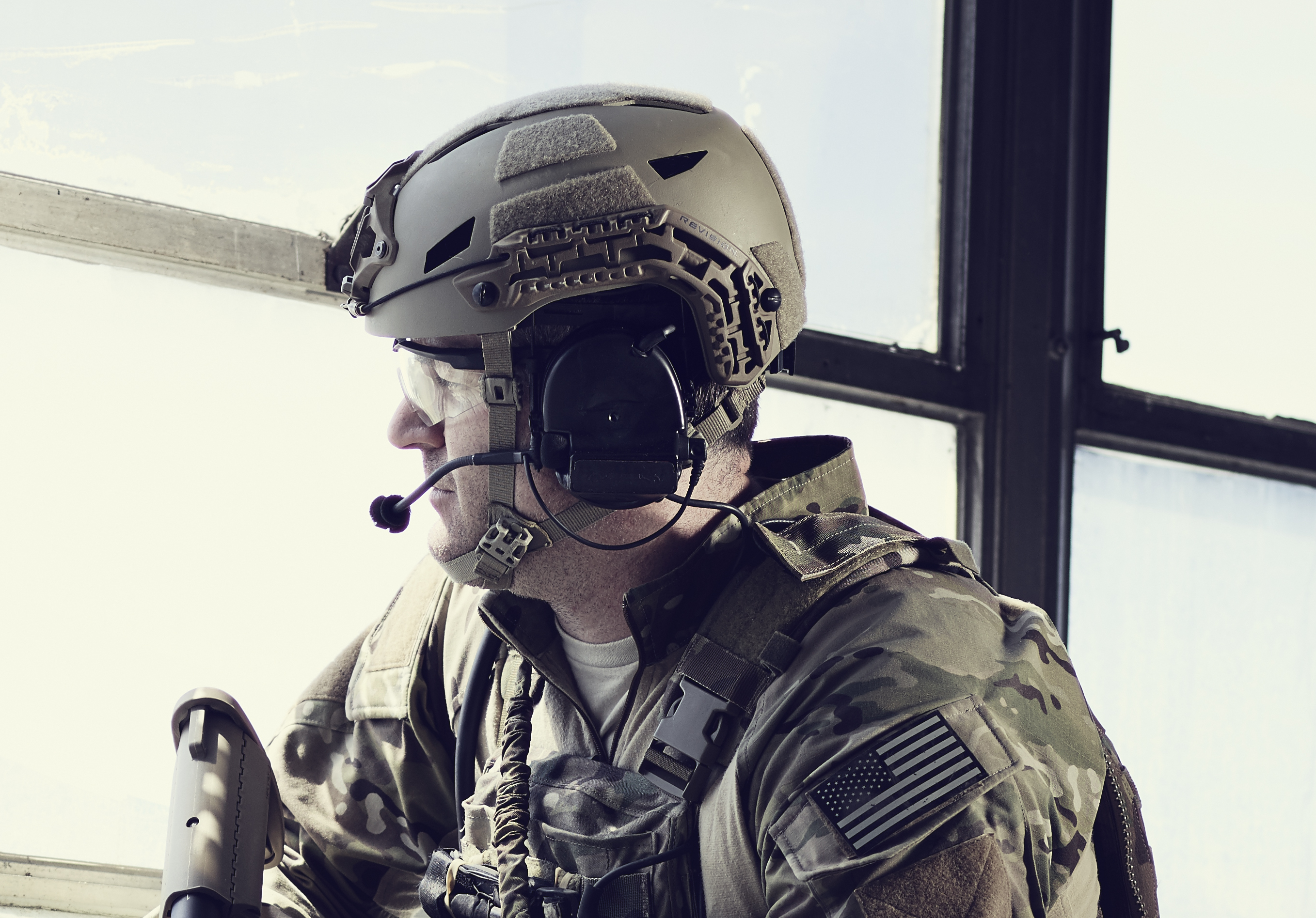 Revision Military Unveils Submission for SOCOM Next-Generation Helmet Program