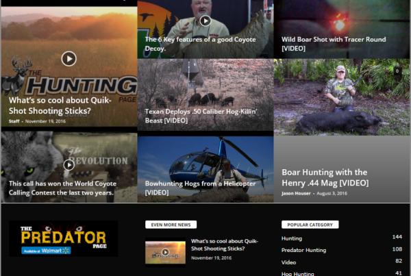 The Predator Page