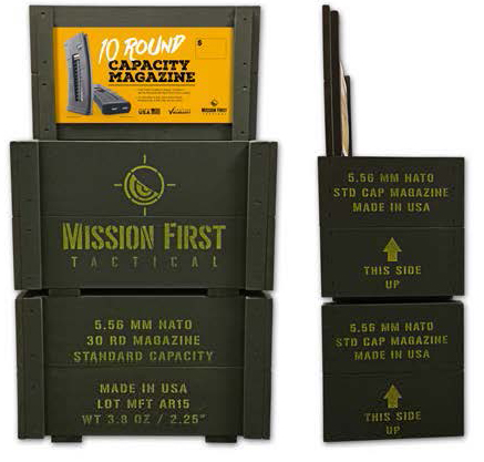 Mission First Tactical (MFT) Military-Style MFT Mag® Ammo Crate for Retailers Now Available