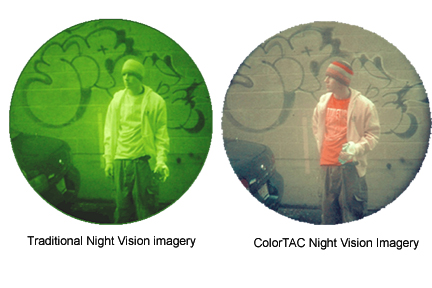 At SHOT: Chromatra's ColorTAC™ CVA-14 Clips Any PVS-14 And Lets You See Color at Night