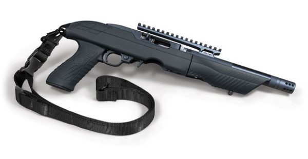 Tac-Hammer TK22C 22 Stock with Tac-Hammer RCB-22 Barrel on Ruger 10/22 Charger Takedown