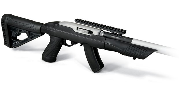 Tac-Hammer TK22 Stock with Tac-Hammer RCB-22 Barrel on Ruger 10/22 Takedown