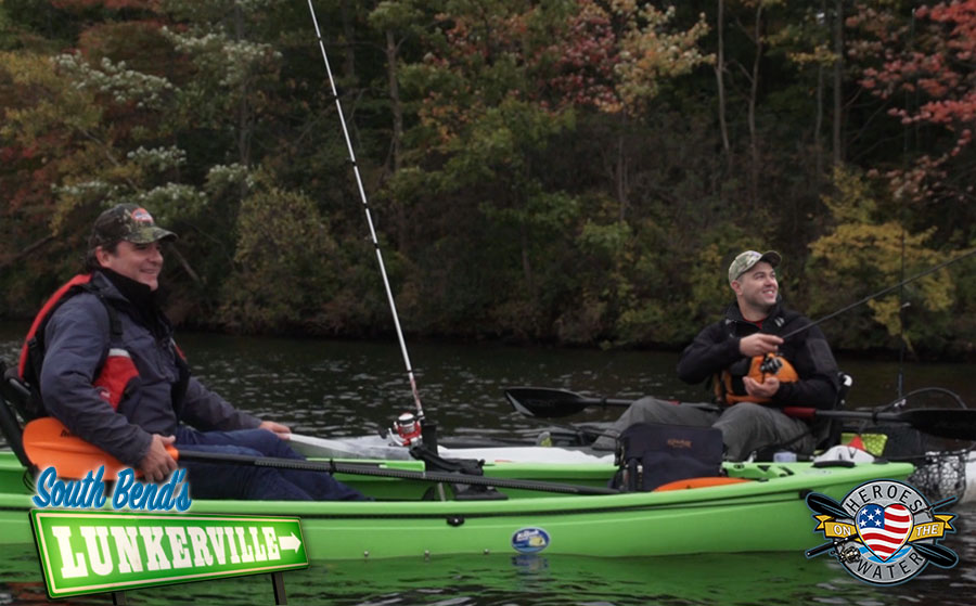 South Bend's® Lunkerville Teams Up with Heroes on the Water