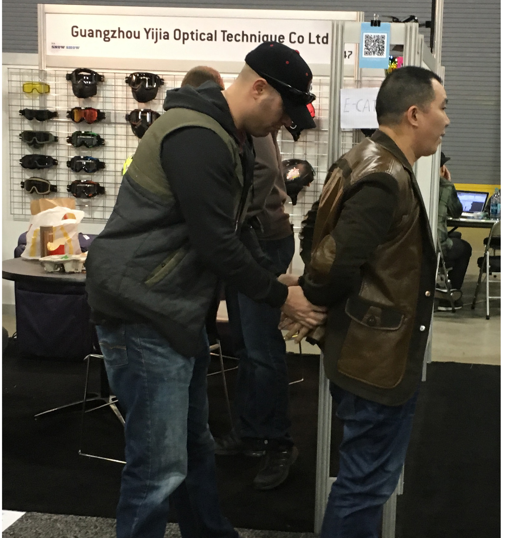Revision Aids in Counterfeit Sting Operations at Two Tradeshows, Resulting in Multiple Arrests