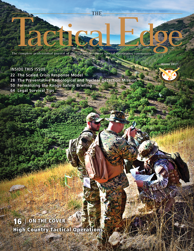The National Tactical Officers Association (NTOA) Releases the Winter Edition of The Tactical Edge