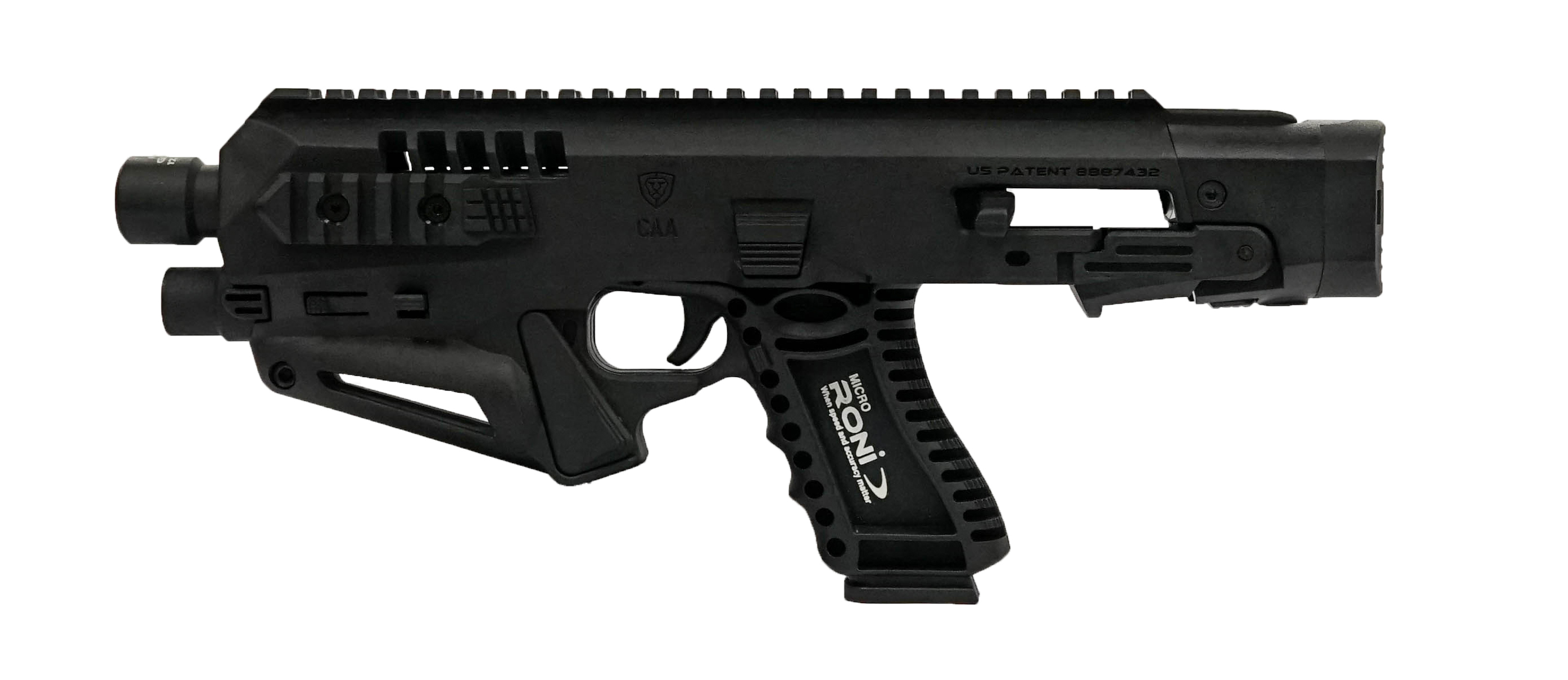 The Micro RONI® Recon Pistol Conversion – All the Benefits, No NFA Paperwork!