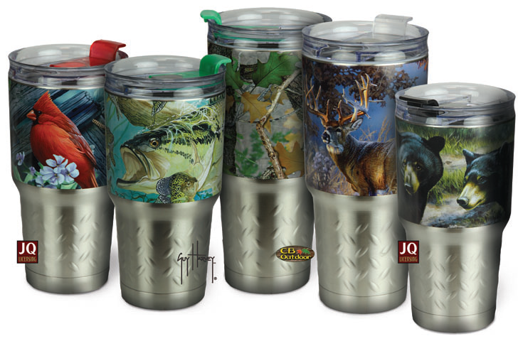 RIVERS EDGE PRODUCTS Adds All-New Line of Stainless Insulated Drinkware to Existing Line of Outdoor Gifts