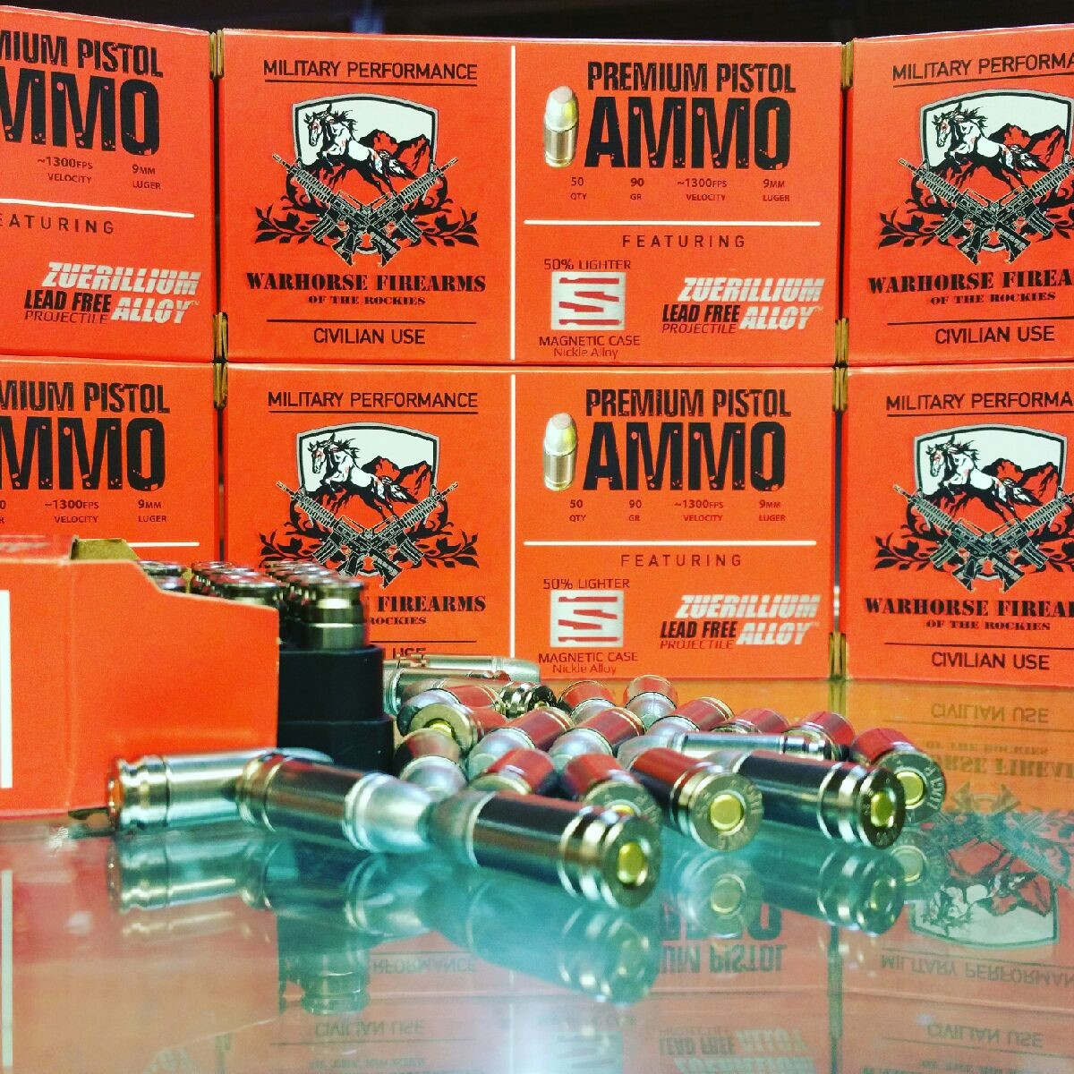 Shell Shock Technologies' NAS3 Casings Used in Warhorse Firearms of the Rockies' New Ammo Line