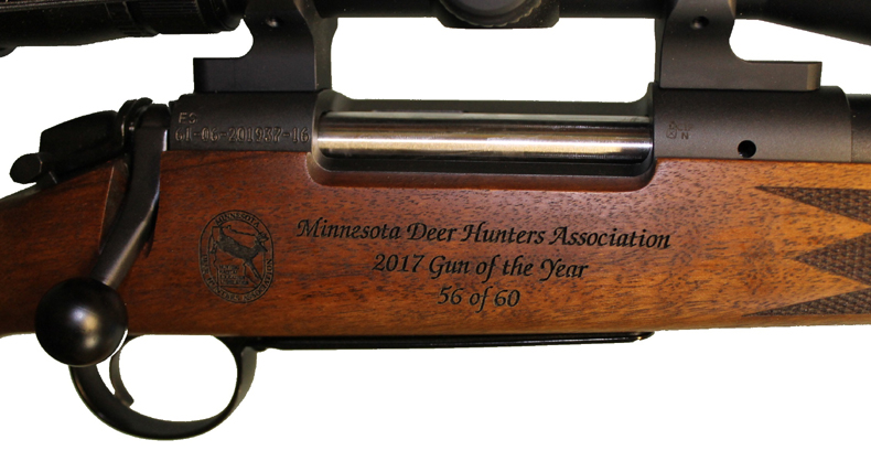 Minnesota Deer Hunters Association (MDHA) Awards the Bergara B14 Timber the 2017 Gun of the Year