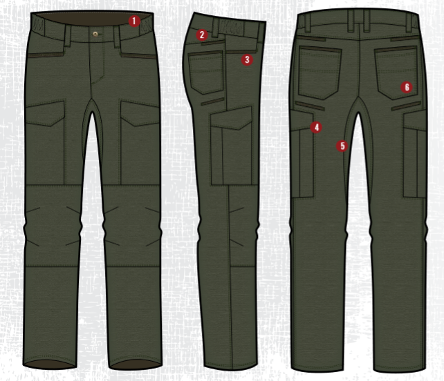 Fusion Stretch Tactical Pants