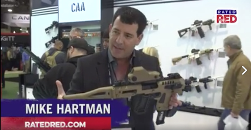 CAA Micro Roni SHOT Show Video by Rated Red with CEO Mikey Hartman hits Over 6 Million Views and Keeps Growing!