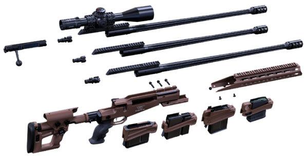 SX-1 MTR quick caliber change