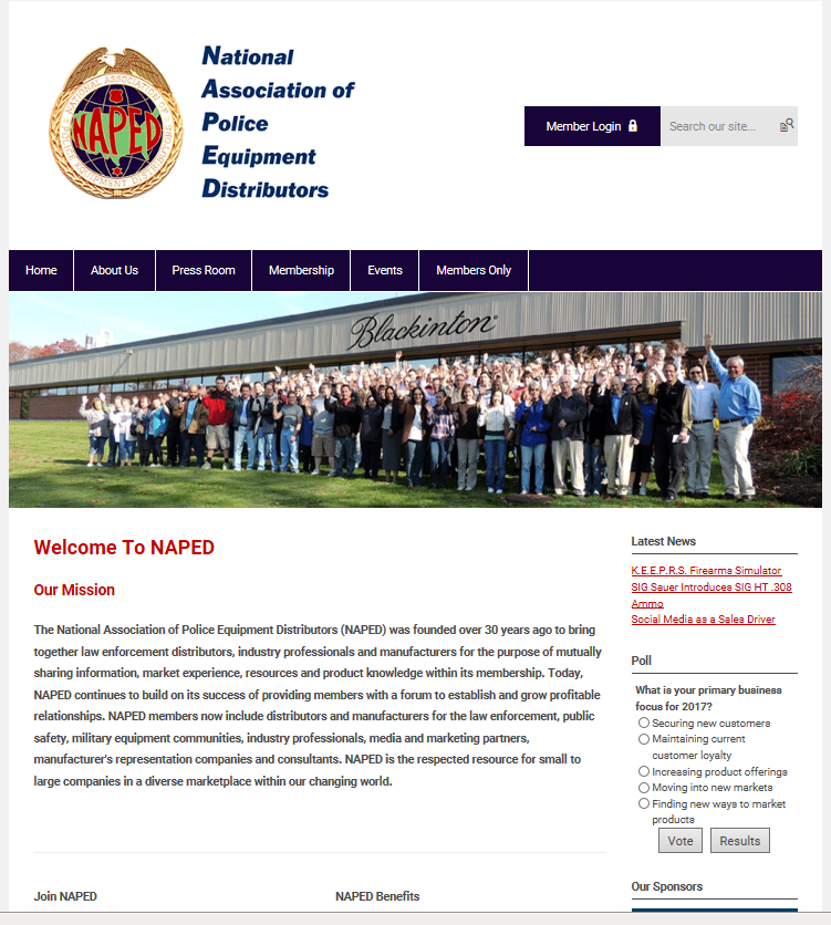 NAPED Launches New Website