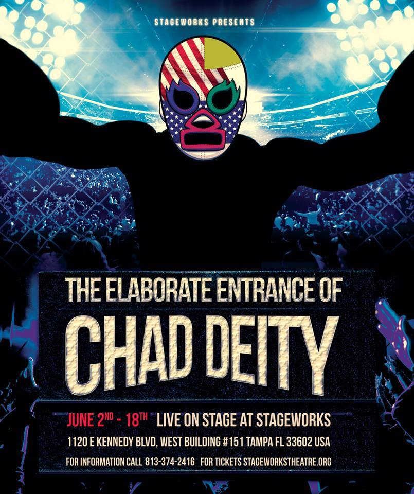 "Stageworks Theatre's Production of ""The Elaborate Entrance of Chad Deity"" Presents a 'Life Imitates Art' Moment for Cast Member"