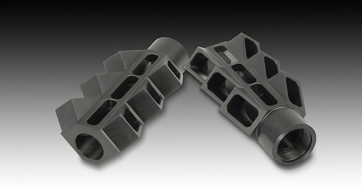 The V6 Muzzle Brake Reduces Muzzle Rise to Virtually ZERO and Felt Recoil by 70 to 80 Percent