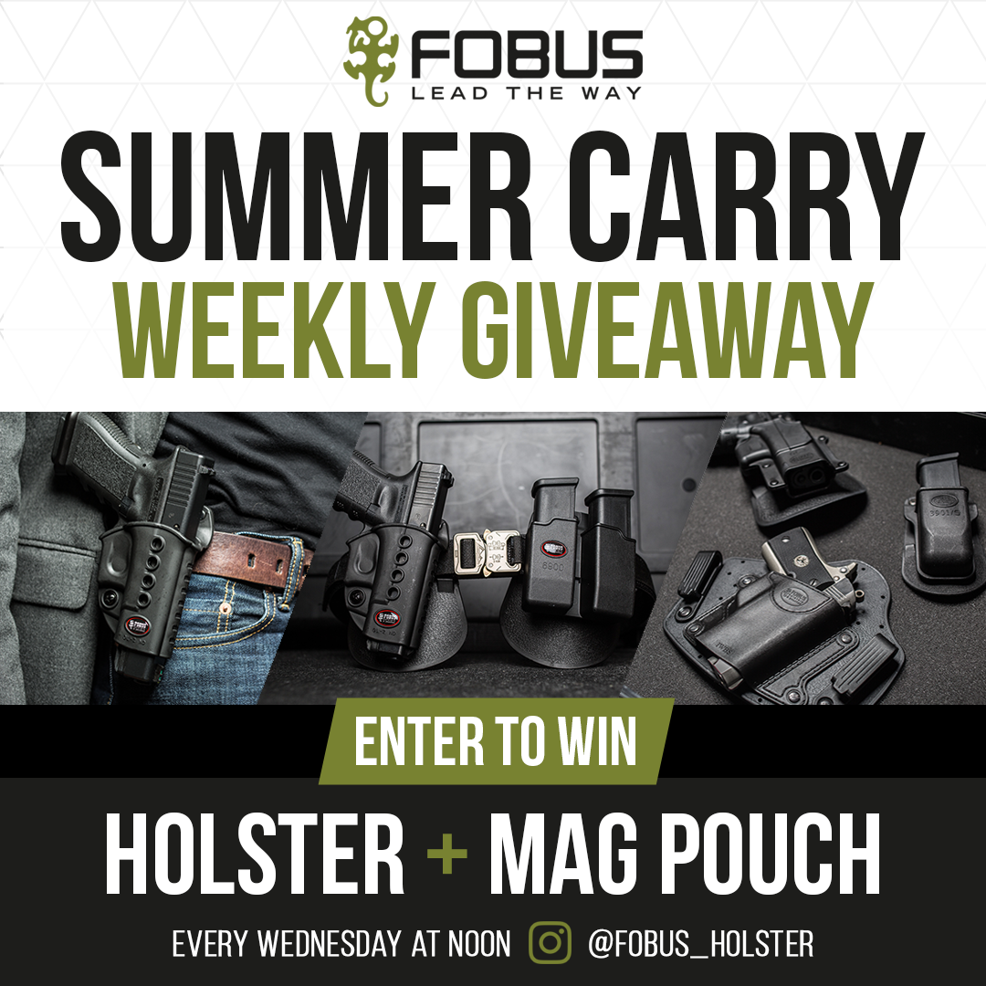 Fobus Holster Announces Launch of its Summer Carry Giveaway