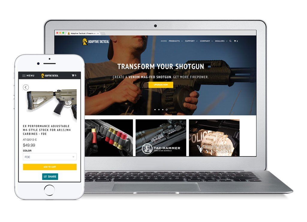 Adaptive Tactical Announces New Website