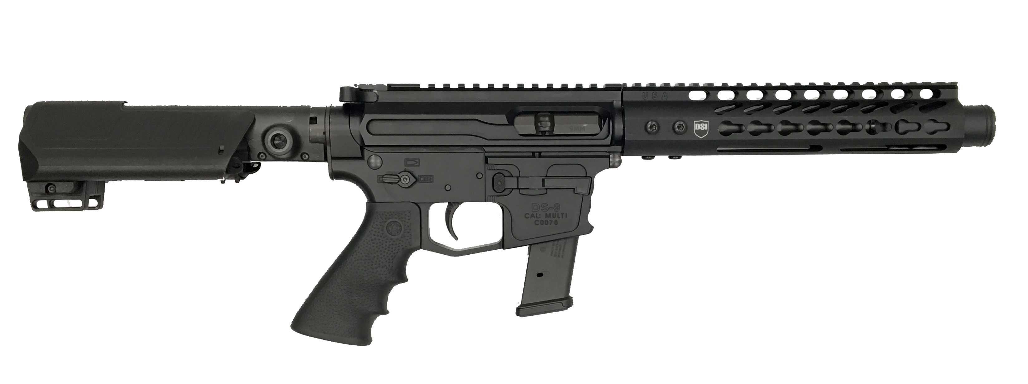 Dark Storm Industries DS Hailstorm 9mm Pistol and SBR