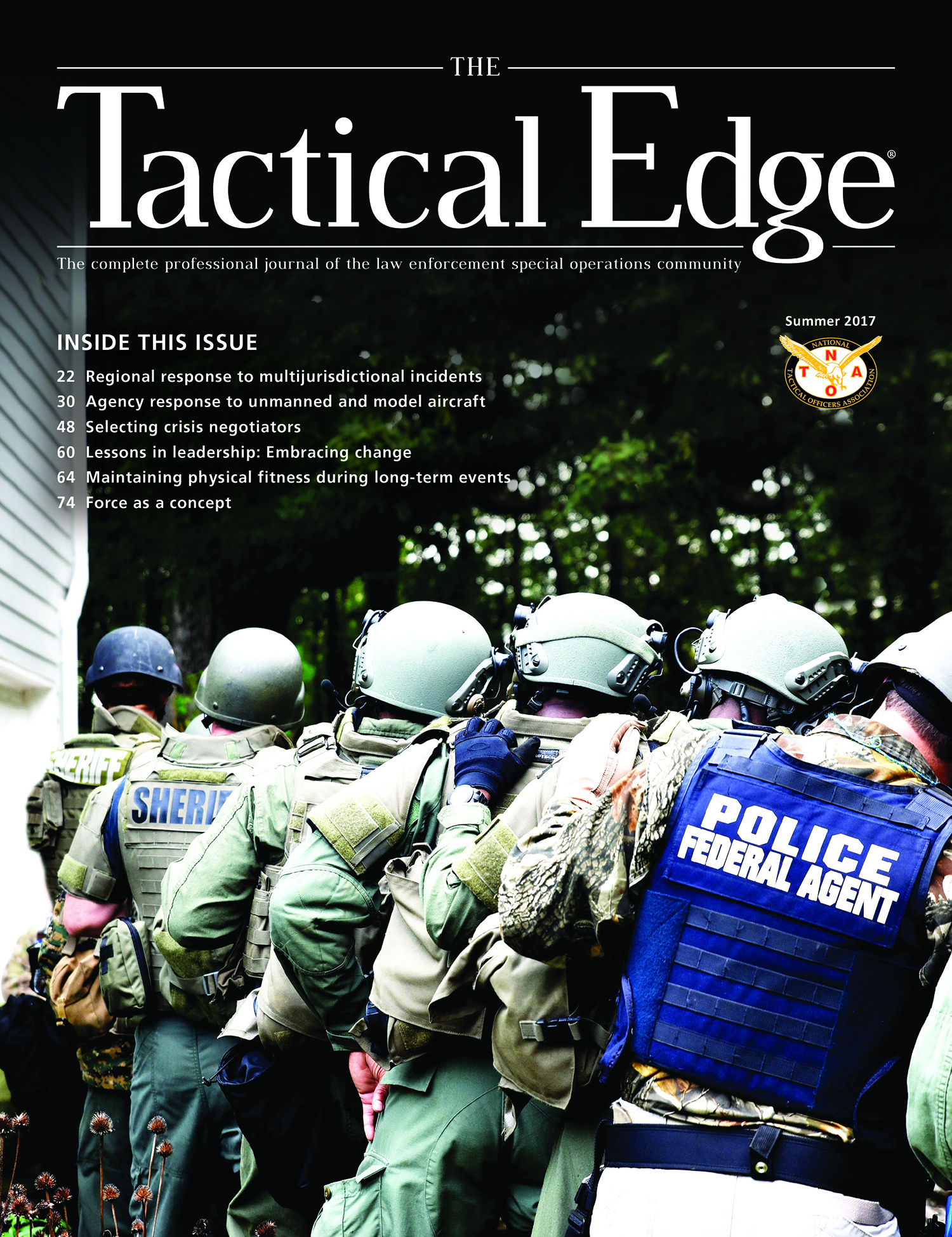 National Tactical Officers Association (NTOA) Releases the Summer Edition of The Tactical Edge