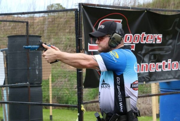 John Vlieger, Shell Shock's Sponsored Shooter (Photo courtesy Brant Pace)
