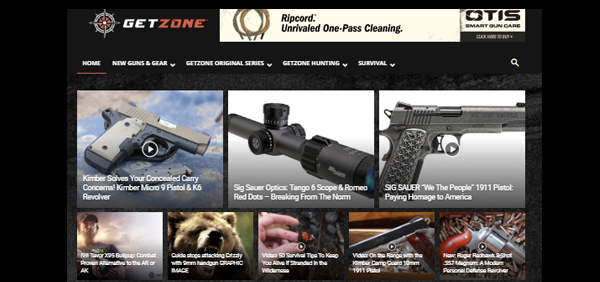 Media Lodge Relaunches Outdoor Industry Video Destination, GetZone.com