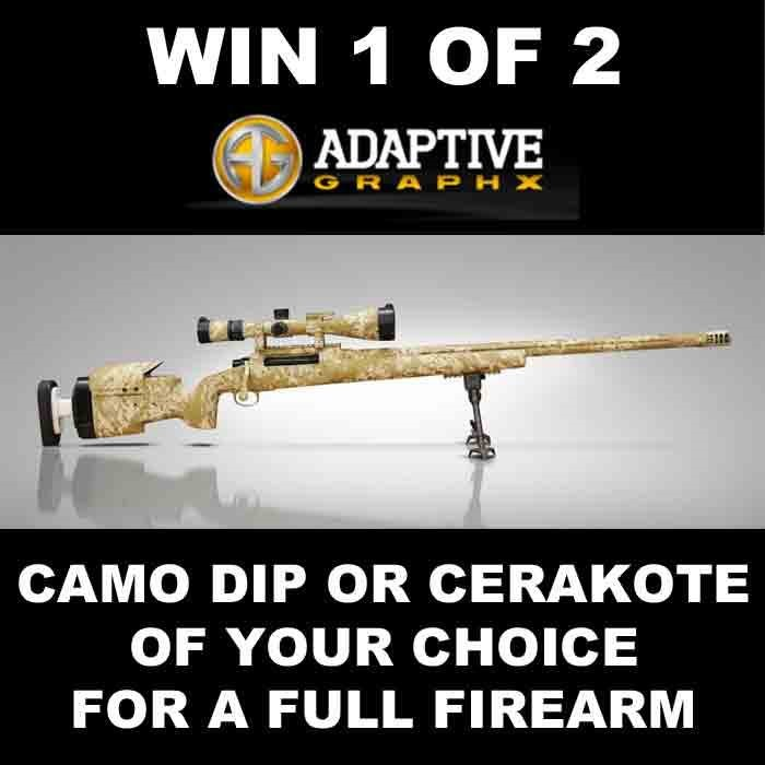 Adaptive Graphx Announces TWANGnBANG Water Transfer & Cerakote® Giveaway