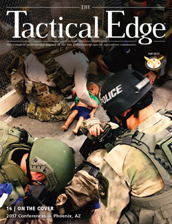 National Tactical Officers Association (NTOA) Releases the Fall Edition of The Tactical Edge